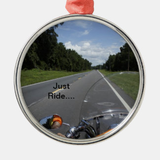 Just Ride Christmas Ornament