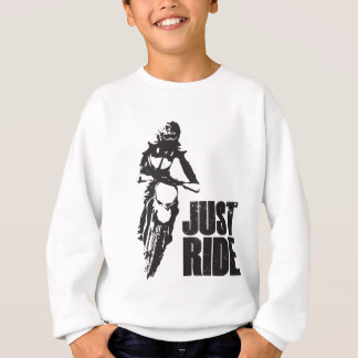 Just Ride Motorcycle Sweatshirt