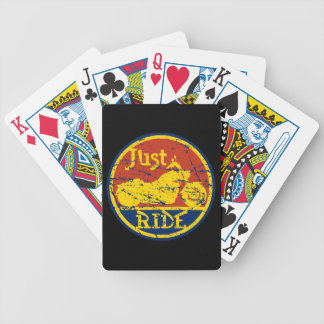 Just Ride Motorcycles Playing Cards Deck