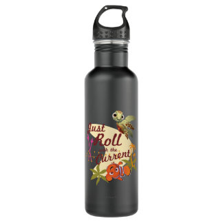 Just Roll with the Current 710 Ml Water Bottle