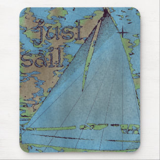 JUST SAIL MOUSE PADS