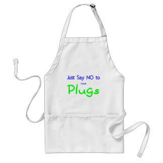 Just Say No (Green) Standard Apron