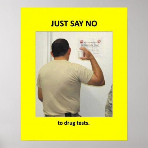 just-say-no-to-drug-tests print