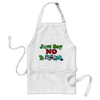 Just Say NO to NORMAL Standard Apron