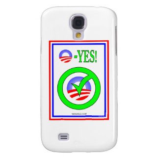 Just Say O - Show your pro-Obama attitude Samsung Galaxy S4 Cases