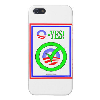 Just Say O - Show your pro-Obama attitude Covers For iPhone 5