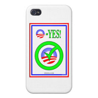 Just Say O! - Show your pro-Obama attitude! Covers For iPhone 4