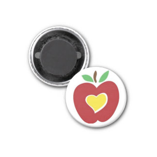 JUST SHOW SOMEONE IN EDUCATION THAT YOU CARE. 3 CM ROUND MAGNET