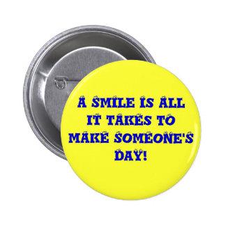 Just smile ok pin