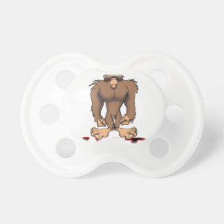 JUST SQUATCH IT BABY PACIFIERS