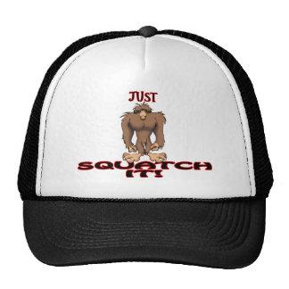 JUST SQUATCH IT! MESH HAT