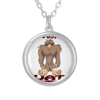 JUST SQUATCH IT PERSONALIZED NECKLACE