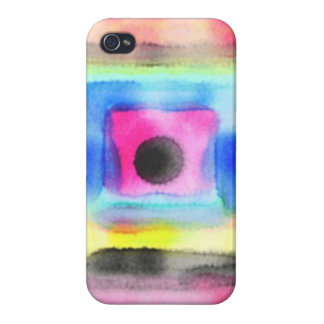 Just strange pattern cover for iPhone 4