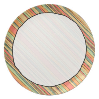 Just Stripes plate