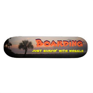 Just Surfin' with Wheels Skateboards
