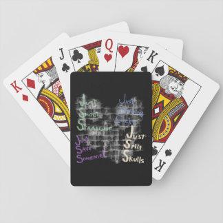 Just Surviving Sucks Satire Poker Cards