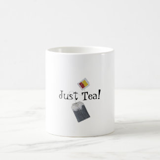 Just Tea! Basic White Mug