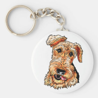 Just the Airedale Terrier Key Ring