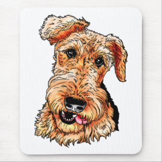 Just the Airedale Terrier Mouse Mat