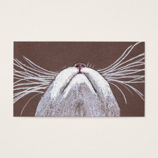 JUST THE CATS WHISKERS 2 BUSINESS CARD