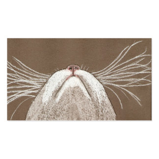 JUST THE CATS WHISKERS BUSINESS CARD TEMPLATE