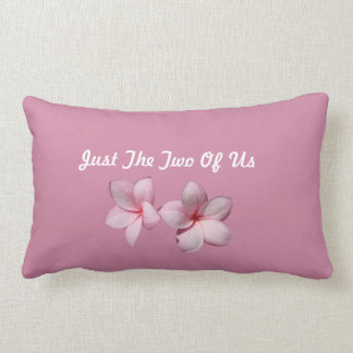 "Just The Two Of Us Lumbar Pillow 13"" x 21"""