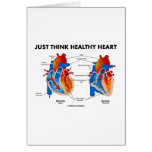 Just Think Healthy Heart (Diastole Systole) Card