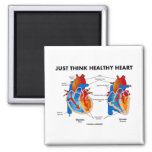 Just Think Healthy Heart (Diastole Systole) Magnets