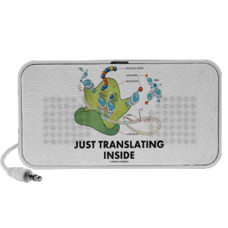 Just Translating Inside (Protein Synthesis) Portable Speaker