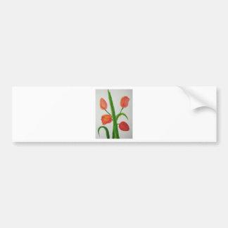 Just Tulips Bumper Sticker