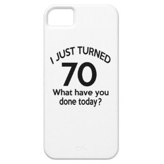 Just Turned 70 iPhone 5 Covers