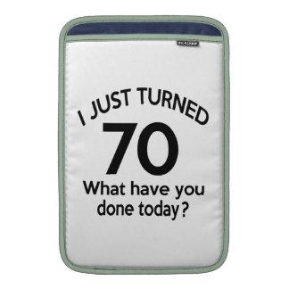 Just Turned 70 Sleeves For MacBook Air