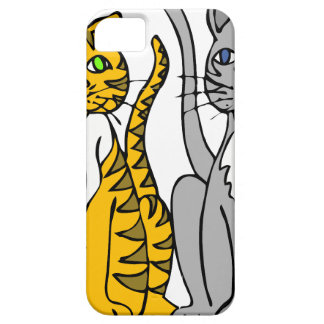 Just Two Innocent Cats... iPhone 5 Cover