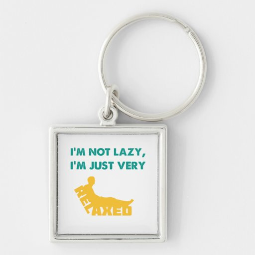 Just very Relaxed Key Chain