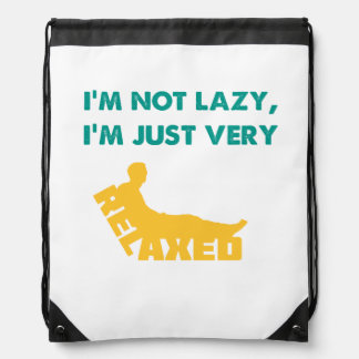 Just very Relaxed Drawstring Backpacks