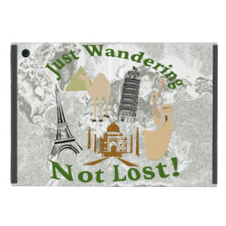 Just Wandering Not Lost Design Case For iPad Mini