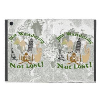 Just Wandering Not Lost Design iPad Mini Cover