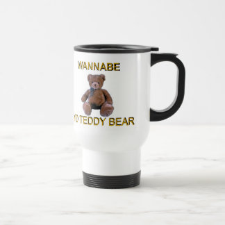 JUST WANNABE... STAINLESS STEEL TRAVEL MUG