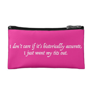 Just Want My T*ts Out - Makeup Bag