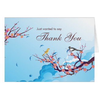 Just wanted to say Thank you Greeting Card