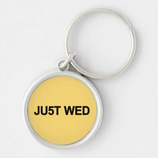 Just Wed - William & Kate Royal Wedding Keychain