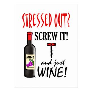 Just Wine Postcards