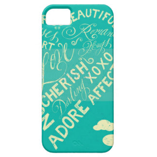 Just Words iPhone 5 Cases