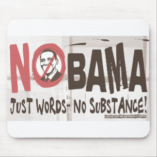 Just Words, No Substance Mousepad