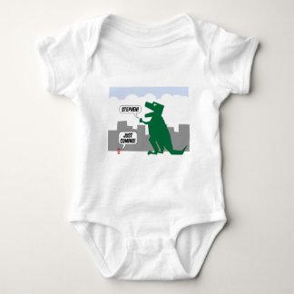 justcoming dinosaur baby bodysuit