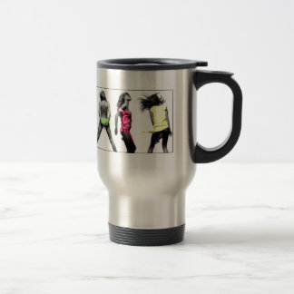 justdance 15 oz stainless steel travel mug