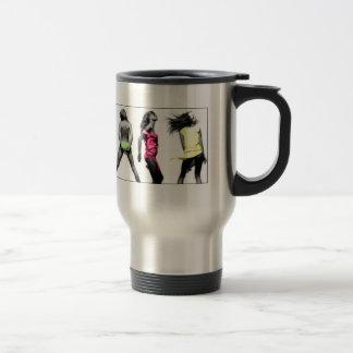 justdance stainless steel travel mug