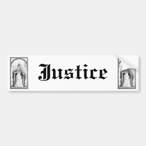 Justice Bumper Stickers