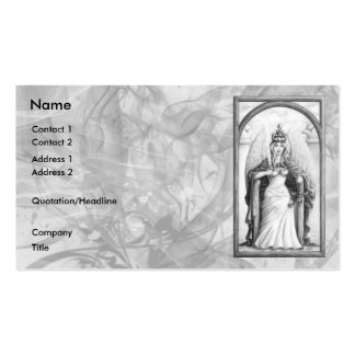 Justice Business Card Template