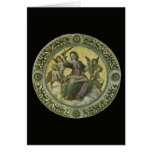 Justice by Raphael, Vintage Renaissance Art Card